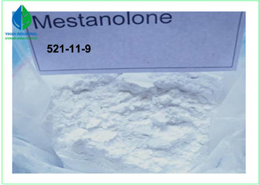China Mestanolone Anabolic Steroids Powder Pure Testosterone Steroid CAS 521 11 9 supplier