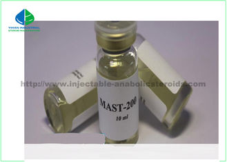 China yellow oil 10ml Anabolic Hormoes Mast-P200 Drostanolone Propionate for Bodybuildin supplier