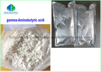 China White Crystalline Power Nutrition Supplements GABA Gamma Aminobutyric Acid CAS 56-12-2 supplier