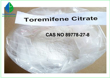China Bodybuilding Raw Steroid Powders Toremifene Citrate For Cancer Treatment factory