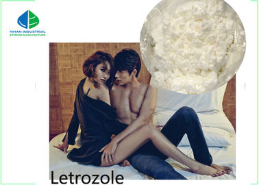 China CAS 112809 51 5 Anti Estrogen Steroids Femara Letrozole Dosage Medical Grade factory