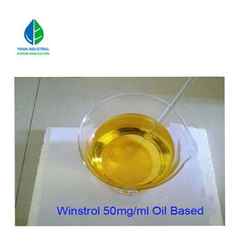 Yellow Liquid Oral Anabolic Steroid CAS 10418-03-8 Winstrol - 50S For Bodybuilding