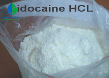 Raw material Powder Local Anesthesia Agents Lidocaine HCL CAS 73-78-9 White Powder