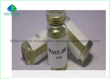 yellow oil 10ml Anabolic Hormoes Mast-P200 Drostanolone Propionate for Bodybuildin