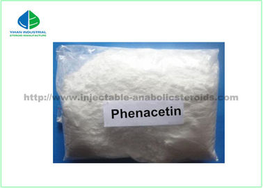 Phenacetin Pain Relief Powder For Fever Reducing CAS 62-44 Acetophenetidin Powder Pharmaceutical Intermediates