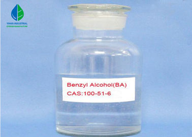 Pharmaceutical Grade BA Clear Liquid Benzyl Alcohol CAS 100-51-6  For Solvent